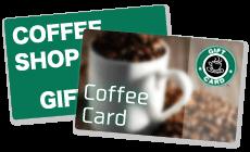 コーヒーショップのカード