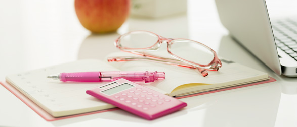 手帳と電卓